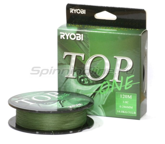 RYOBI - Шнур PE Top 4х 120м 0,203мм - фотография 1