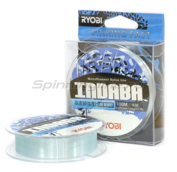 RYOBI - Леска Nylon Indaba 100м 0,181мм - фотография 1