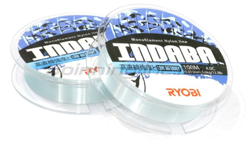 RYOBI - Леска Nylon Indaba 100м 0,405мм - фотография 2