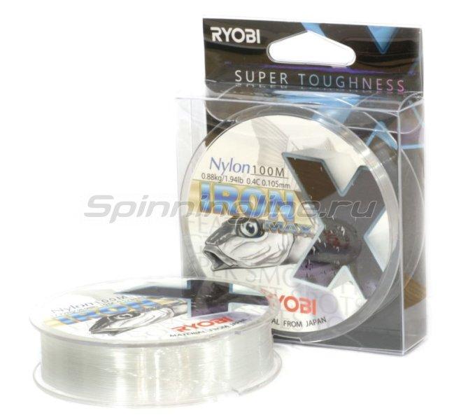 Леска Ryobi Nylon Iron 100м 0,286мм -  1