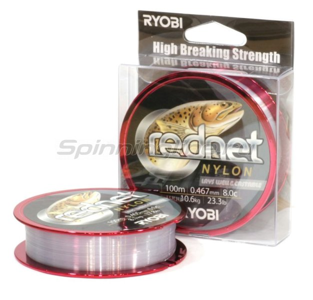 RYOBI - Леска Nylon Rednet 100м 0,467мм - фотография 1