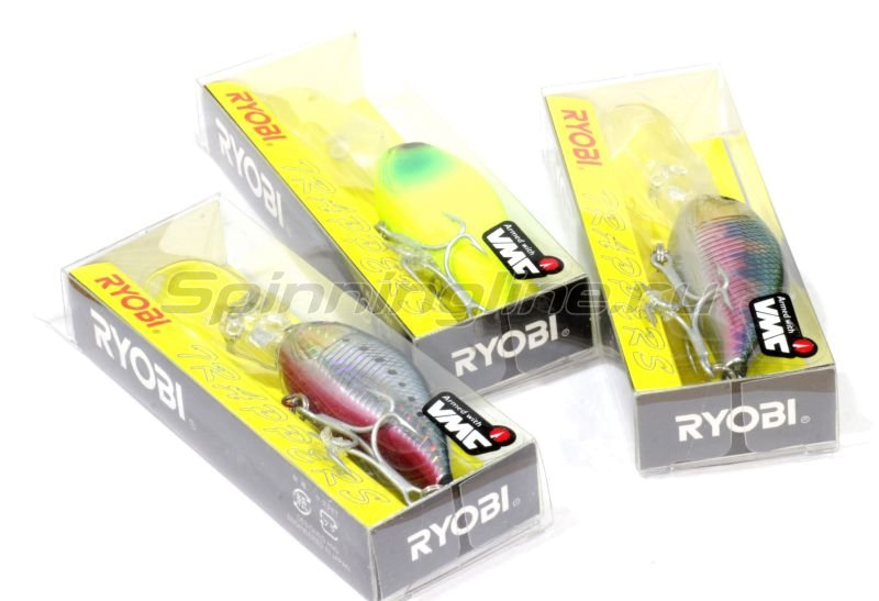 RYOBI - Воблер Cranky Bull 68MDF 15 - фотография 2