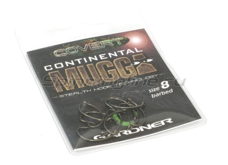 Крючки Covert Continental Mugga Hooks №4 -  2