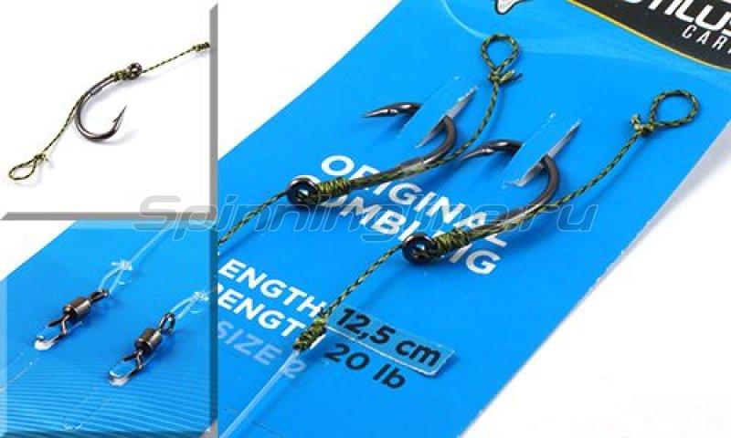 Nautilus - Оснастка волосяная Original Combi Rig №6 12,5см 20lb - фотография 1