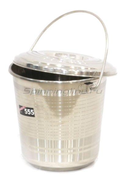 555 - Ведро с крышкой 6л - фотография 1
