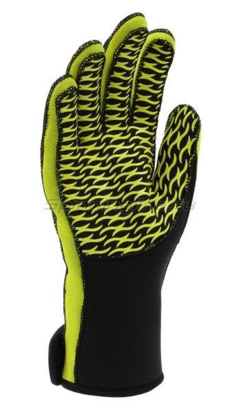 Перчатки неопреновые Alaskan L черный/желтый -  2