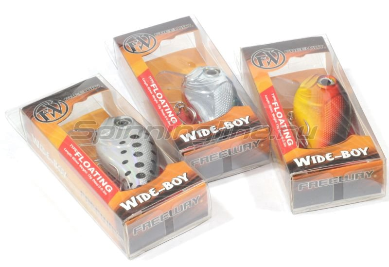Воблер Wide-Boy 60F F007 -  2