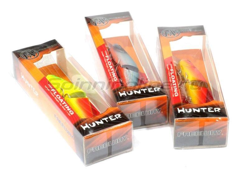 Воблер Hunter 113F F008 -  2