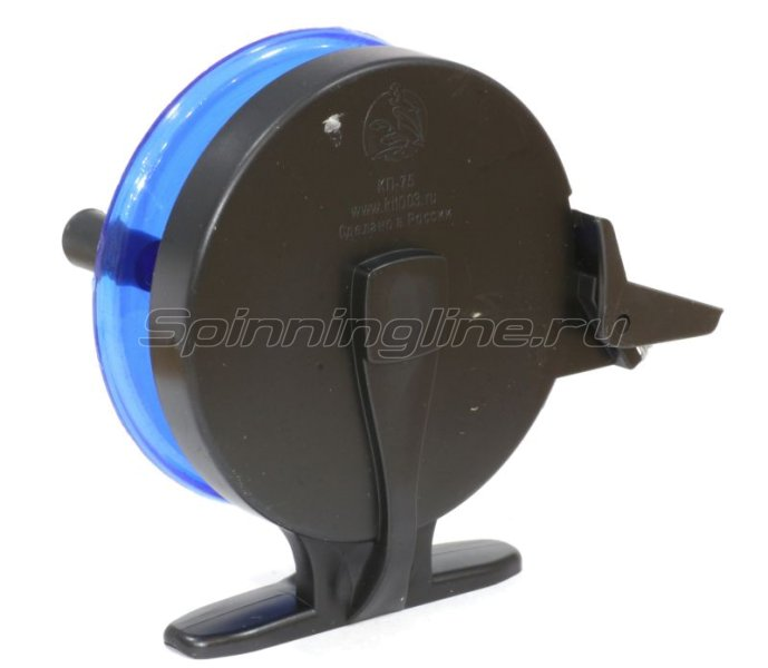 Катушка Три Кита проводочная КП-75 синяя -  2