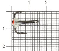 Тройник для приманок LJ с каплей 08/F