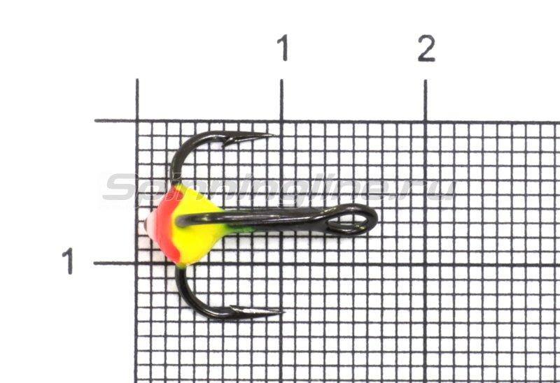 Тройник для приманок LJ с каплей 08/RFR -  1