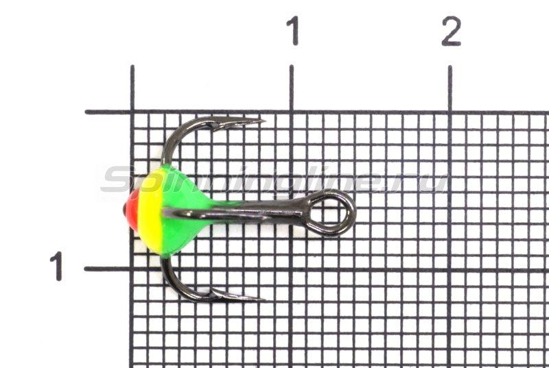 Тройник для приманок LJ с каплей 10/GRY -  1