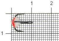 Тройник для приманок LJ с каплей 14/FR