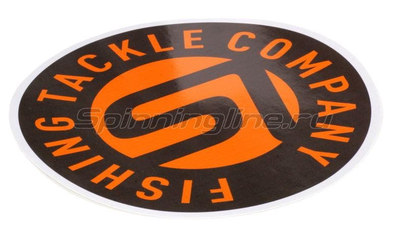 Spinningline - Наклейка Spiningline.ru Fishing Tackle Company - фотография 1