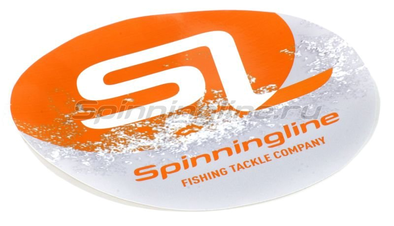 Spinningline - Наклейка Spiningline.ru Fishing Tackle Company 2 - фотография 1