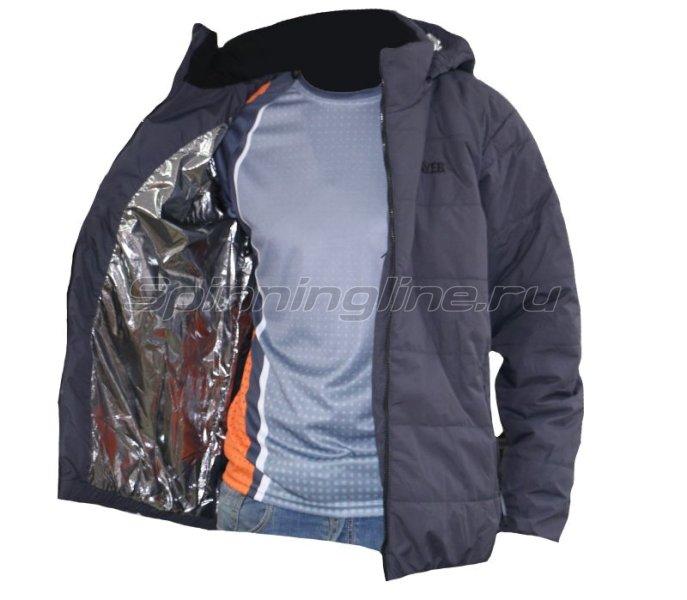 Куртка Novatex Партизан 52-54 рост 182-188 серый - фотография 2