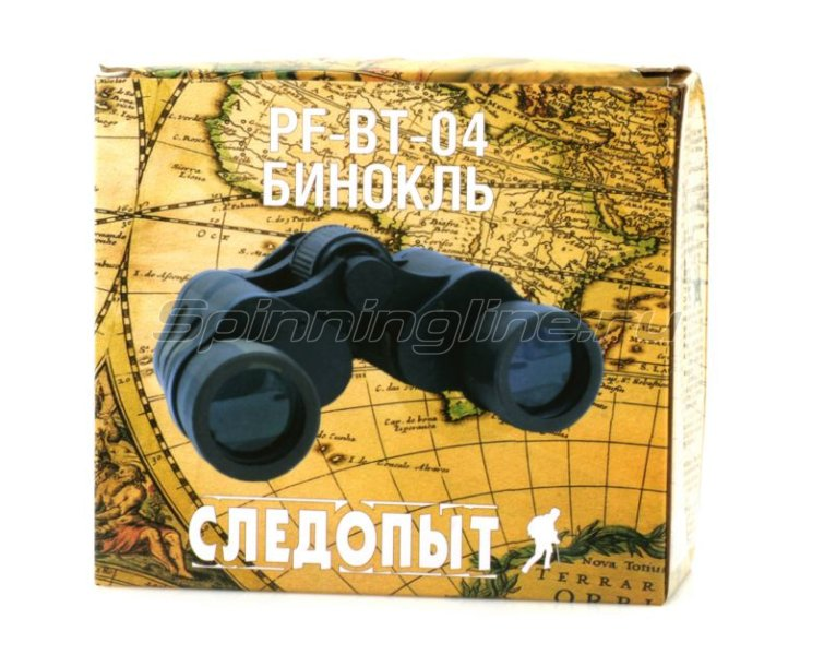 Бинокль Следопыт хаки 8х40 PF-BT-04 -  4