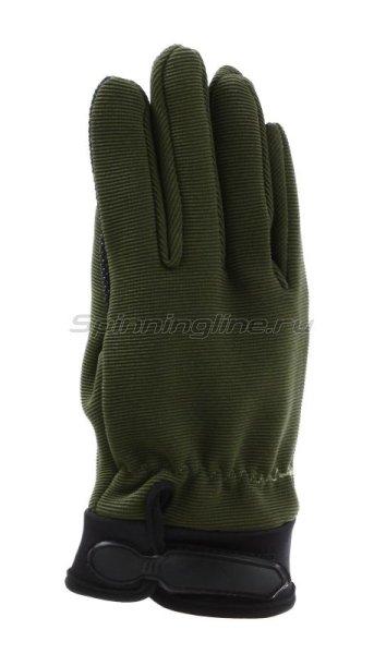 Перчатки Следопыт XL зеленые - фотография 1