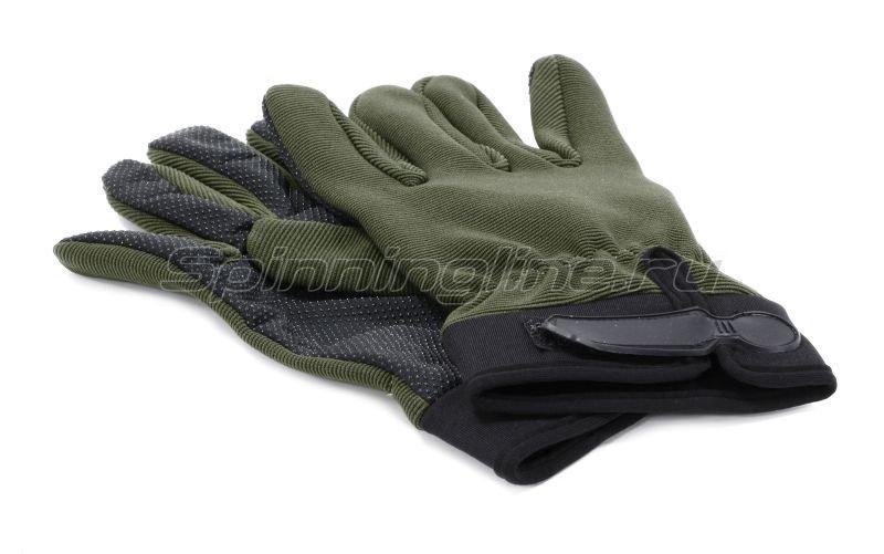 Перчатки Следопыт XL зеленые - фотография 2