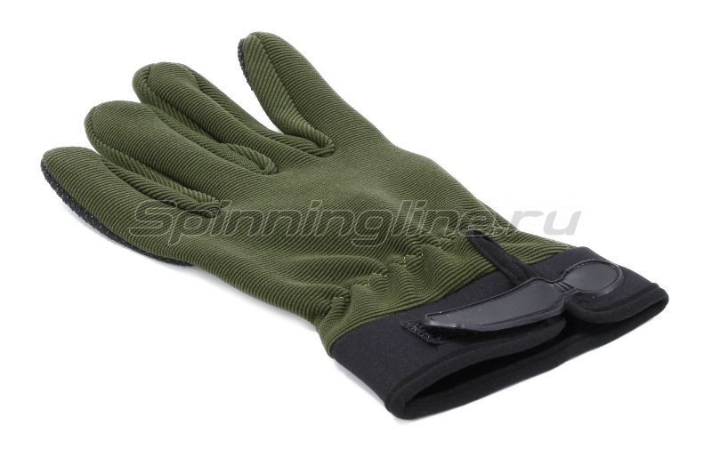 Перчатки Следопыт XL зеленые - фотография 3