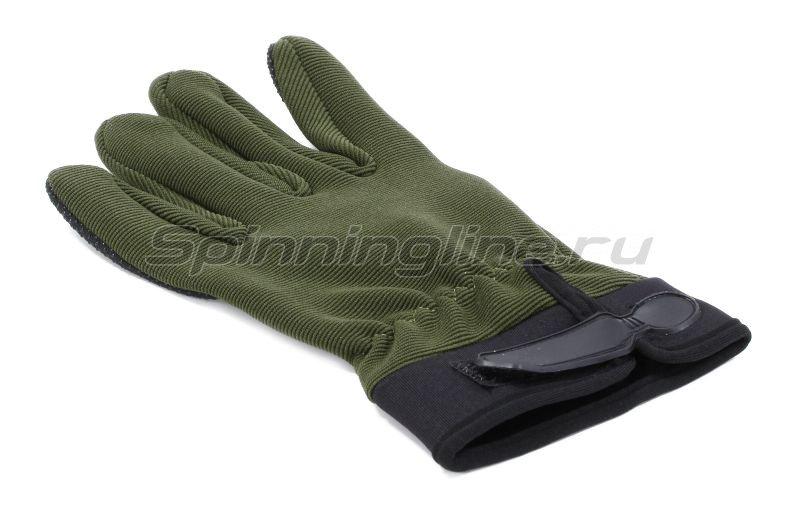 Перчатки Следопыт XL черные -  3