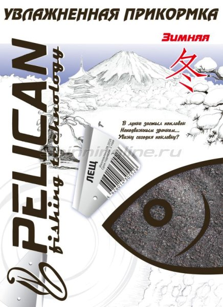 Pelican - Прикормка Лещ 500гр - фотография 1