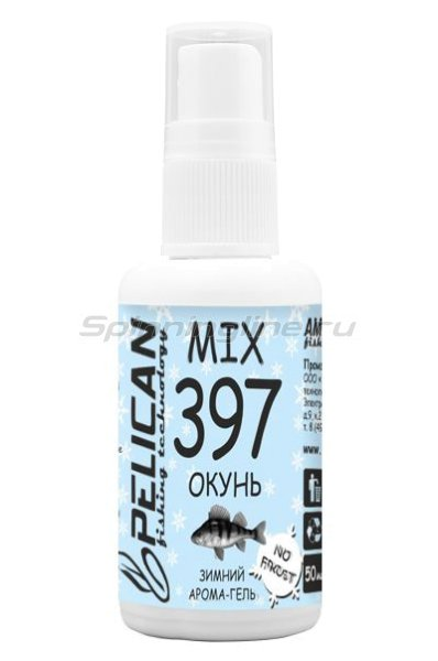 Зимний арома-гель Mix 397 Окунь 50мл -  1