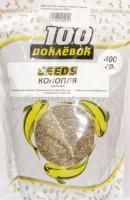 Добавка 100 поклевок Seeds Конопля цельная 400гр