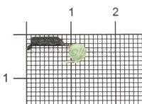 Мормышка True Weight Гвоздешарик Кошачий глаз d1.5 светло-зеленый кр.hayabusa
