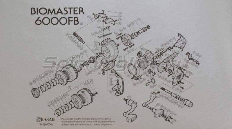 Shimano - Катушка Biomaster 6000 FB - фотография 7