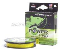 Шнур Power Pro Hi-Vis Yellow 275м 0.32мм