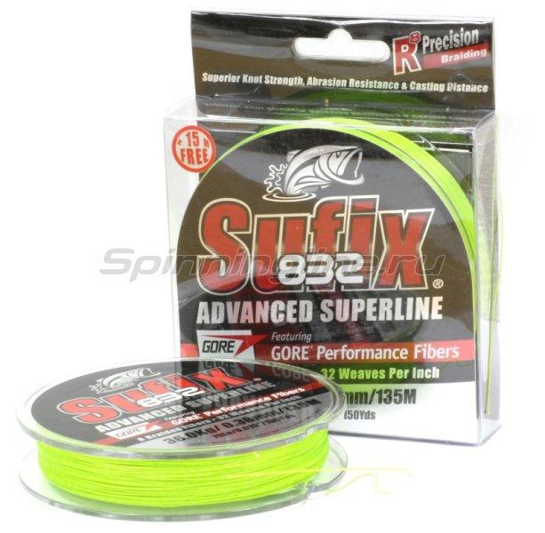 Шнур 832 Braid Neon Lime 135м 0,24мм -  1