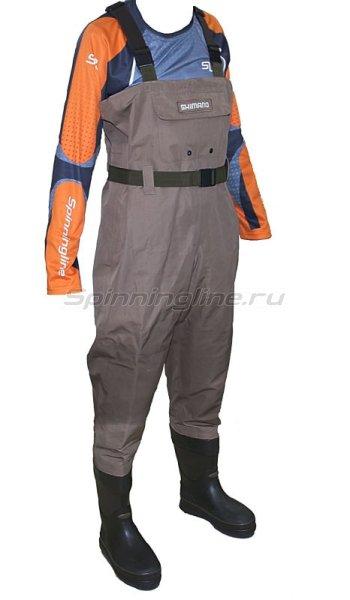 Вейдерсы Shimano Dryshield WA-014K L -  1