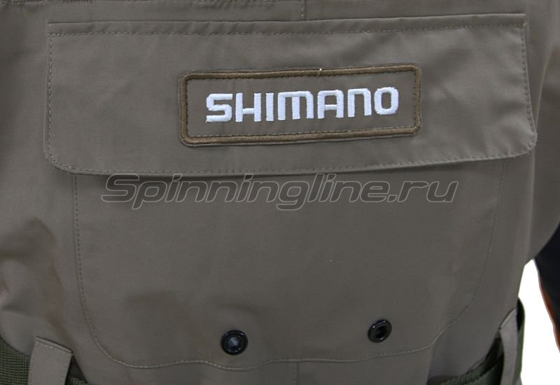 Вейдерсы Shimano Dryshield WA-014K L -  2