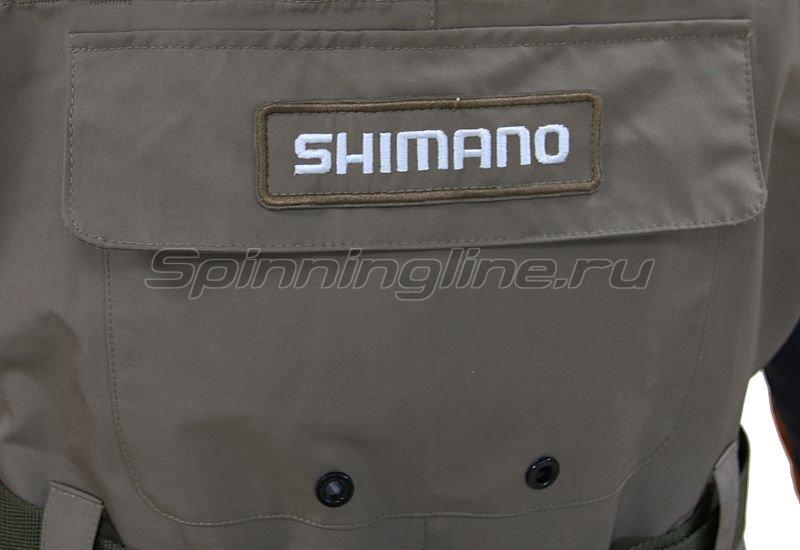 Вейдерсы Shimano Dryshield WA-014K S -  2