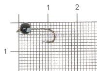 Джиг-головка вольфрамовая 0,45гр черный