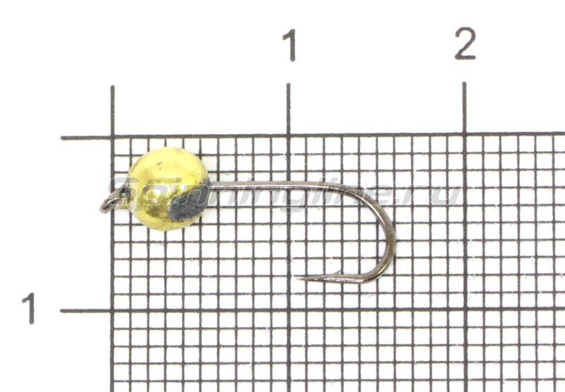 Джиг-головка Crazy Fish вольфрамовая 0,75гр золото -  1