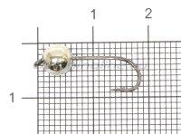 Джиг-головка Crazy Fish вольфрамовая 1,35гр серебро