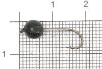 Джиг-головка вольфрамовая 1,35гр черный