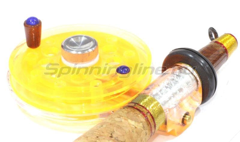 Удочка зимняя Хардкор XXL леворукая оранжевая -  2