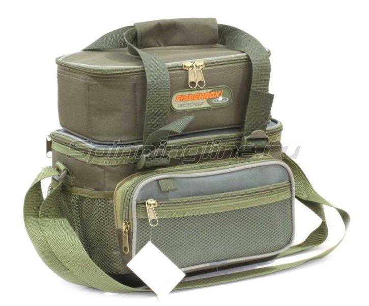 Сумка FisherBox C108 с кофром для катушек - фотография 1