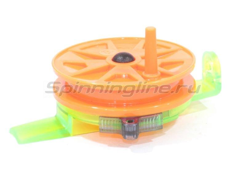 Катушка Пирс Мастер проводочная Горизонт WHA-H56ПК зелный/оранжевый - фотография 1