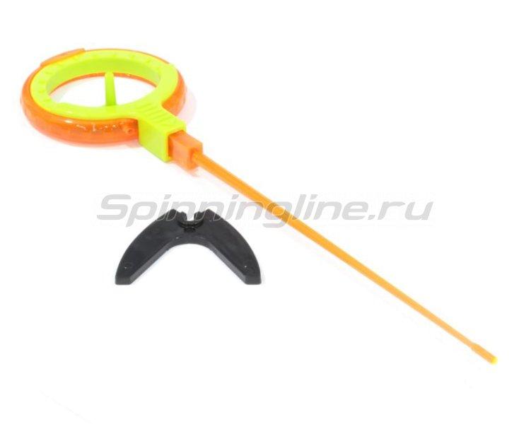 Пирс Мастер - Удочка зимняя WHA 50B L 150 оранжевый/зеленый - фотография 1