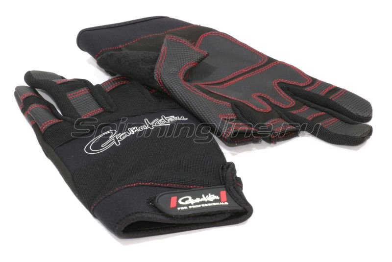 Перчатки Gamakatsu Armor Gloves 3 Fingler L - фотография 1