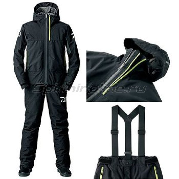 Костюм Daiwa Gore-Tex Winter Suit Black 1204 XXL - фотография 1