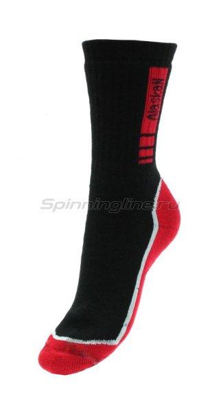Носки Alaskan black/red M - фотография 1