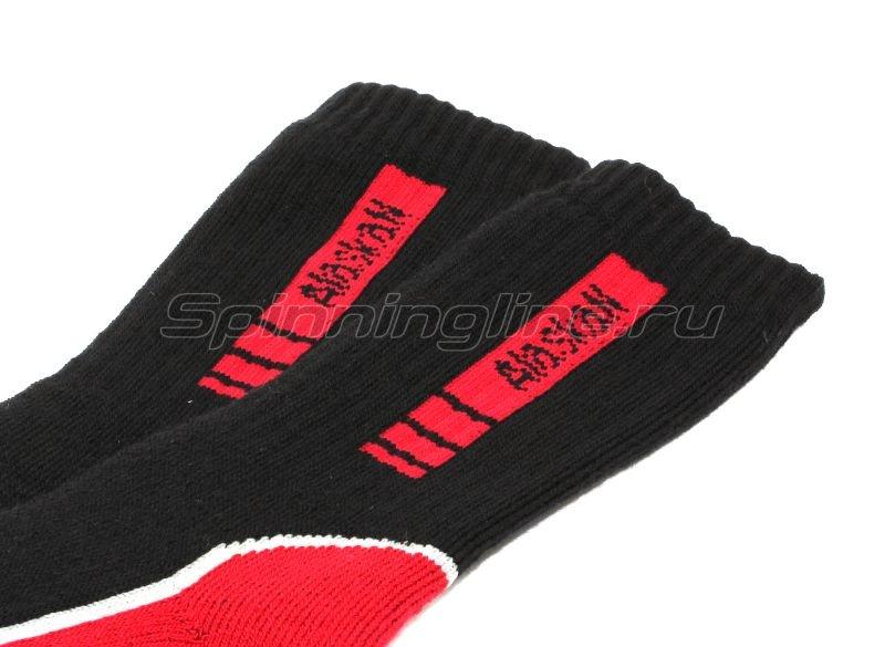 Носки Alaskan black/red M - фотография 2