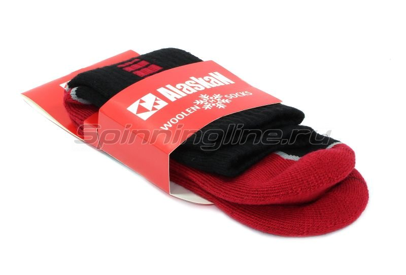 Носки Alaskan black/red XL -  4