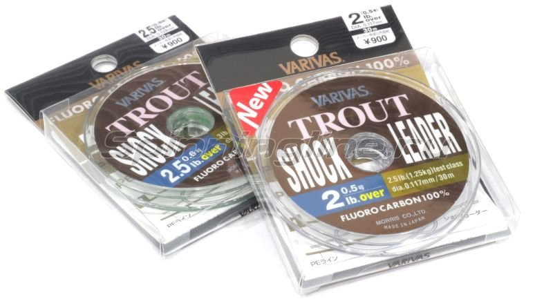 Varivas - Флюорокарбон Trout Shock Leader Fluoro 2,5lb - фотография 1