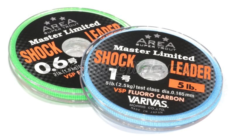 Varivas - Trout Area Master Limited Shock Leader VSP Fluoro 0.6 - фотография 1